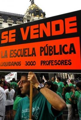 La Educación pública amenazada